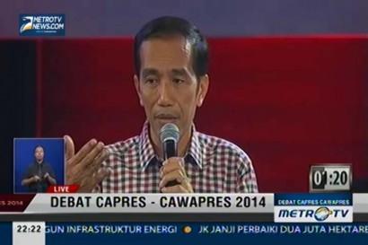 Debat Capres-Cawapres 2014: Pangan, Energi, dan Lingkungan (5)