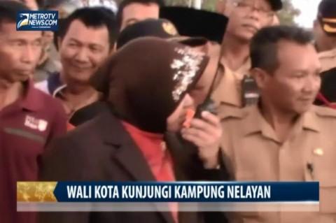 Wali Kota Surabaya Kunjungi Kampung Nelayan