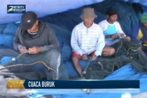 Sepekan Tak Melaut Akibat Cuaca Buruk, Nelayan Terpaksa Berhutang