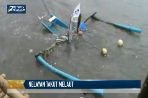 Cuaca Buruk, Ratusan Nelayan di Pangandaran Takut Melaut