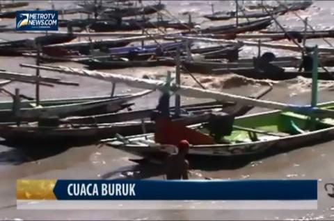 Cuaca Buruk, Nelayan Kenjeran Nganggur Sebulan