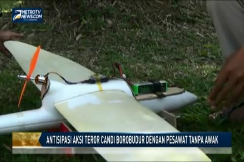 Antisipasi Aksi Teror Candi Borobudur dengan Pesawat Tanpa Awak