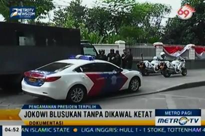 Jokowi Ingin Ubah Pola Pengawalan Paspampres