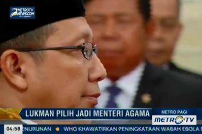 Lukman Hakim Syaifuddin Pilih Lanjutkan Tugasnya sebagai Menteri Agama