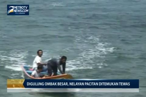 Digulung Ombak Besar, Nelayan Pacitan Ditemukan Tewas