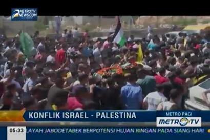 Ribuan Orang Antar Jenazah Essa Qatri yang Ditembak Tentara Israel