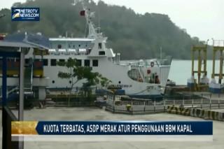 Kuota Terbatas, ASDP Merak Atur Penggunaan BBM Kapal