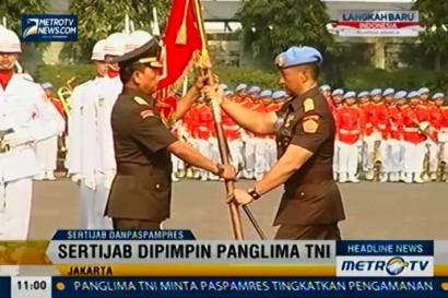 Sertijab Komandan Pasukan Pengamanan Presiden (Danpaspampres)