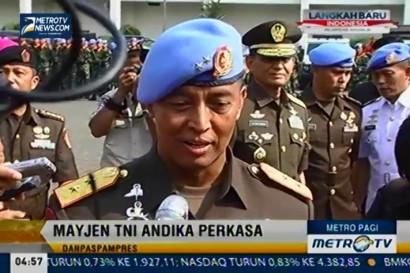 Mayjen TNI Andika Perkasa Resmi sebagai Komandan Paspampres