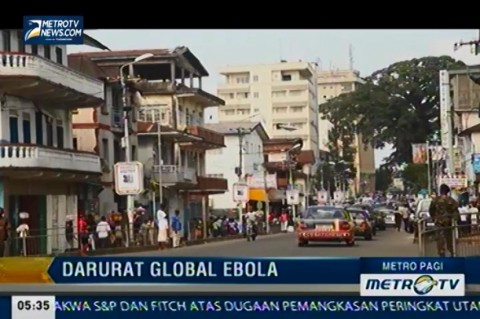 Pemerintah Amerika Tingkatkan Cegah Ebola
