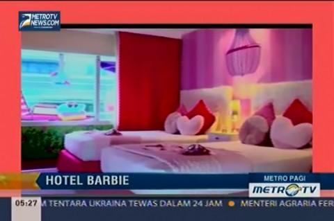 Hotel Hilton Wujudkan Fantasi Kamar Barbie