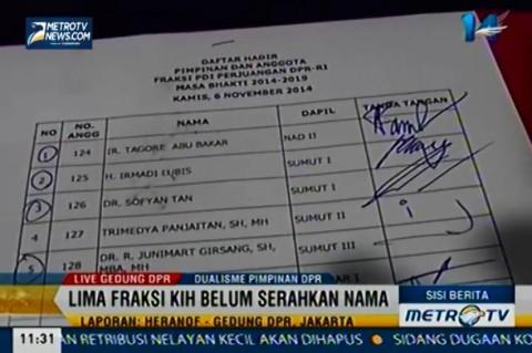 KIH Gelar Rapat Pleno Fraksi Tertutup di DPR