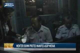 Menteri BUMN Protes Manifes ASDP Merak