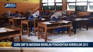 Guru SMP di Mataram Tolak Penghentian Kurikulum 2013