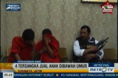 4 Orang Mucikari Ditangkap Polisi, Jual Anak Dibawah Umur