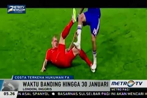 Diego Costa Didakwa Lakukan Tindakan Kekerasan oleh FA