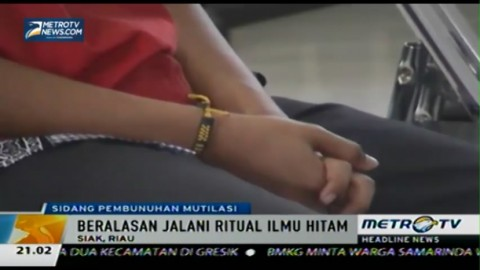 Tiga Terdakwa Mutilasi di Riau Akhirnya Divonis Mati