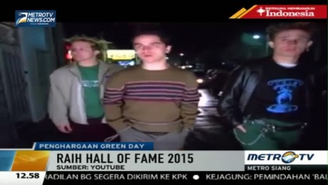 Green Day Masuk Rock and Roll Hall of Fame