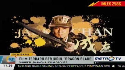 'Dragon Blade' Film Kolosal Terbaru Jackie Chan