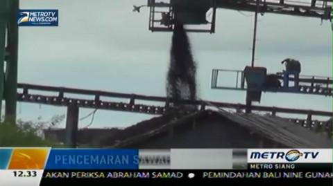 Limbah Batu Bara Cemari Sawah, Petani Terancam Gagal Panen