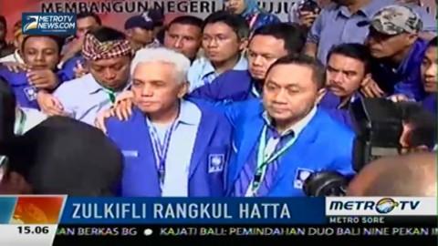 Usai Kemenangan, Zulkifli Rangkul Hatta