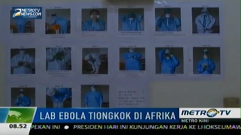 Perangi Virus Ebola, Tiongkok Dirikan Lab di Afrika
