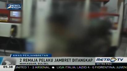 Dua Remaja Penjambret di Makassar Tertangkap Polisi