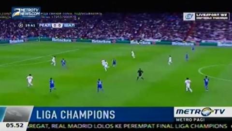 Meski Kalah, Real Madrid Lolos ke Perempat Final Liga Champions