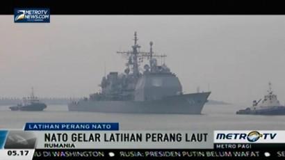 NATO Gelar Latihan Perang di Laut Hitam