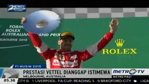 Vettel Temukan Percaya Diri di Ferrari