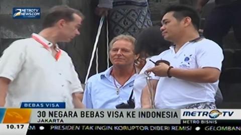 Pengusaha Wisata Dukung Pemerintah Tambah 30 Negara Bebas Visa