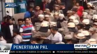 Razia PKL di Medan Berujung Ricuh