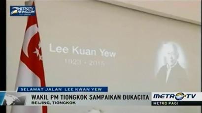 Wakil PM Tiongkok Ucapkan Belasungkawa Wafatnya Lee Kuan Yew
