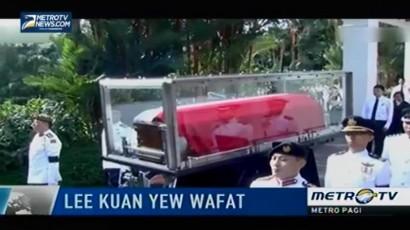 Masyarakat Singapura Hadiri Prosesi Pemakaman Lee Kuan Yew