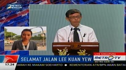 PM Singapura: Lee Kuan Yew Sumber Insiprasi bagi Warga Singapura