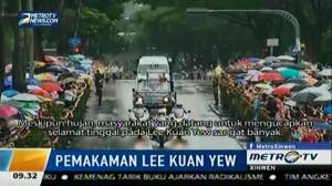 Tapak Tilas Perjuangan Lee Kuan Yew menjadi Jalur Prosesi Pemakaman
