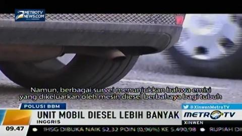 Emisi Mobil Diesel Ganggu Kesehatan Warga Inggris