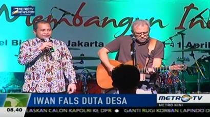Iwan Fals Didaulat Jadi Duta Desa Indonesia