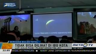 Gerhana Bulan Total Tak Terlihat di Langit Kota Jakarta