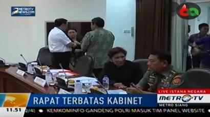 Jokowi Gelar Ratas Bahas Penjagaan Aset Laut