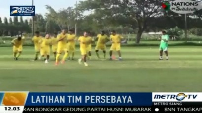 Persebaya Surabaya Tetap Gelar Latihan Rutin