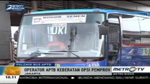 Operator Bus APTB Protes Kebijakan Ahok