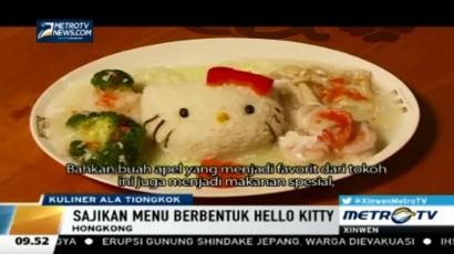 Restoran Ini Sajikan Makanan Berbentuk Hello Kitty