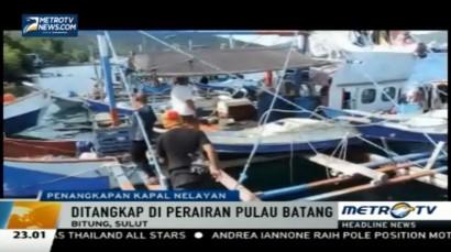 Tak Miliki Izin Operasi, Tiga Kapal Nelayan Ditangkap