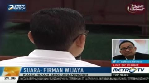 Hukuman Anas Diperberat, Pengacara: Putusan Ini Miskin Pertimbangan