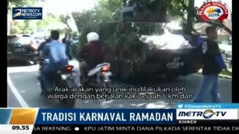 Sambut Ramadhan, Ribuan Warga Sukabumi Gelar Karnaval