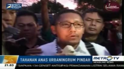 Anas Urbaningrum Bersyukur Dipindah ke Lapas Sukamiskin