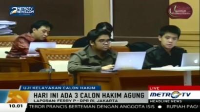 Komisi III DPR Gelar <i>Fit and Proper Test</i>  Calon Hakim Agung