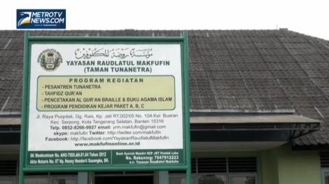 Cahaya Al-Quran Braille dari Serpong