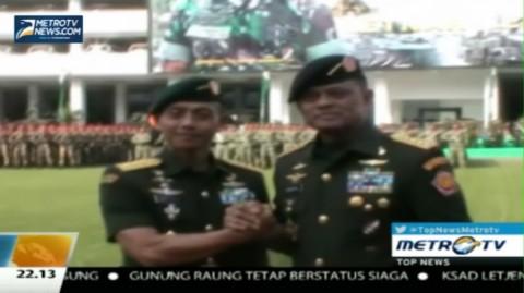 Resmi Jabat KSAD, Letjen Mulyono Siap Teruskan Pencapaian TNI